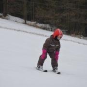 5. Náročná trať vyžaduje naprosté soustředění každého lyžaře