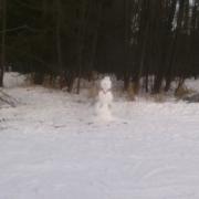 Snowman - watchman