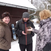 6. Dárek pro štěstí - sněhová vločka
